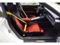 Black/Lava Orange Front Seat Photo for 2016 Porsche 911 #121664151