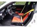 Black/Lava Orange Front Seat Photo for 2016 Porsche 911 #121664193