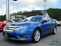2012 Blue Flame Metallic Ford Fusion SEL #121651550