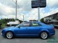 2012 Blue Flame Metallic Ford Fusion SEL  photo #2
