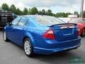 2012 Blue Flame Metallic Ford Fusion SEL  photo #3
