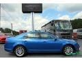 2012 Blue Flame Metallic Ford Fusion SEL  photo #6