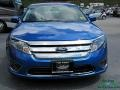2012 Blue Flame Metallic Ford Fusion SEL  photo #8