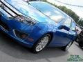 2012 Blue Flame Metallic Ford Fusion SEL  photo #34