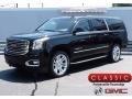 Onyx Black 2017 GMC Yukon XL SLT 4WD