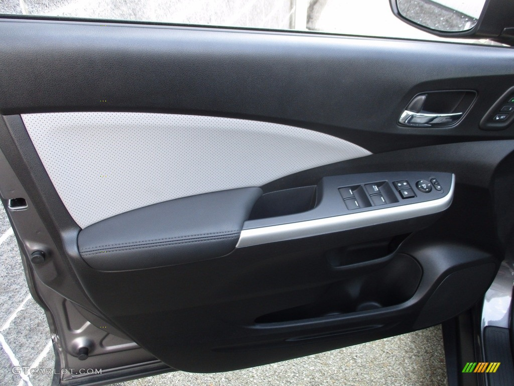 2015 CR-V Touring - Modern Steel Metallic / Gray photo #6
