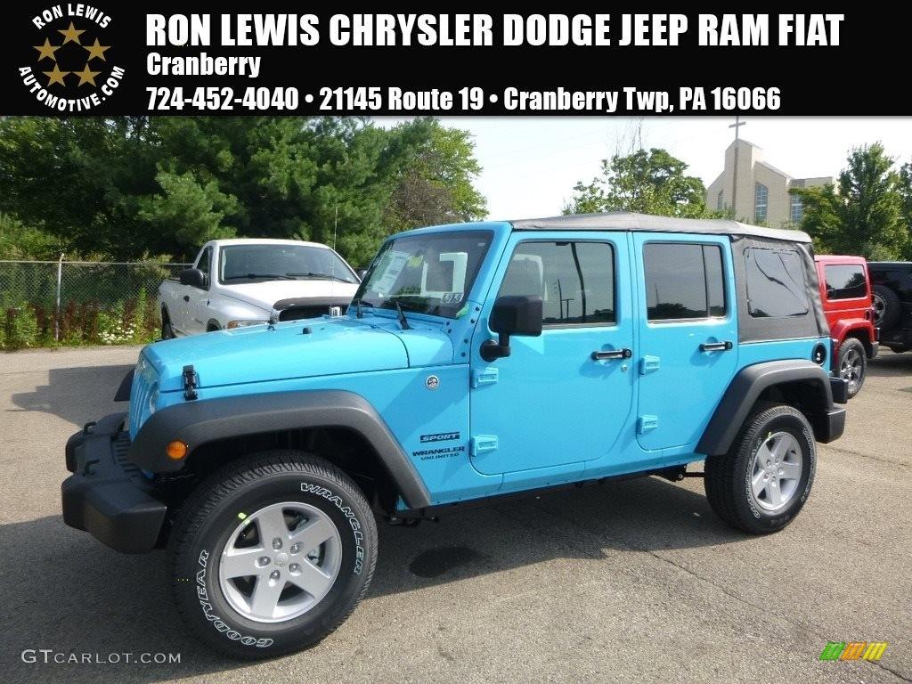 2017 chief blue jeep wrangler unlimited sport 4x4 121734729 photo 15 car. Black Bedroom Furniture Sets. Home Design Ideas