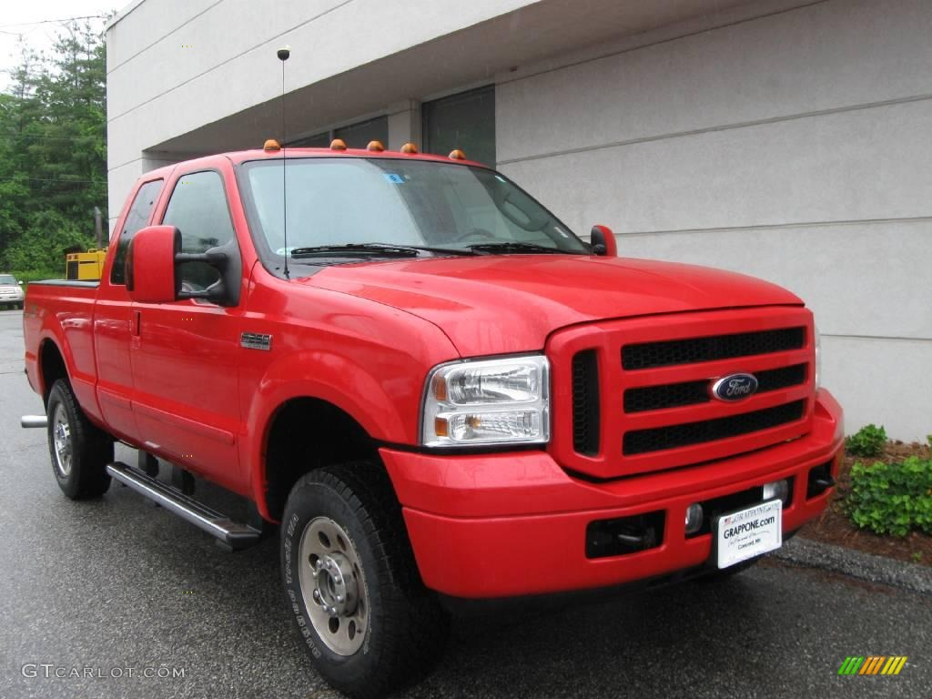 2006 red clearcoat ford f250 super duty fx4 supercab 4x4. Black Bedroom Furniture Sets. Home Design Ideas