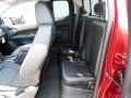2017 GMC Canyon Jet Black Interior Rear Seat Photo