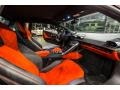 Front Seat of 2015 Huracan LP 610-4