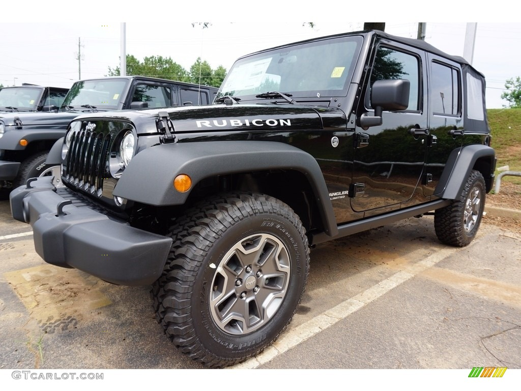 2017 black jeep wrangler unlimited rubicon 4x4 121824395. Black Bedroom Furniture Sets. Home Design Ideas