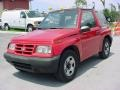 Wildfire Red 1996 Geo Tracker Soft Top