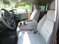 2018 Black Chevrolet Silverado 1500 Custom Double Cab 4x4  photo #17
