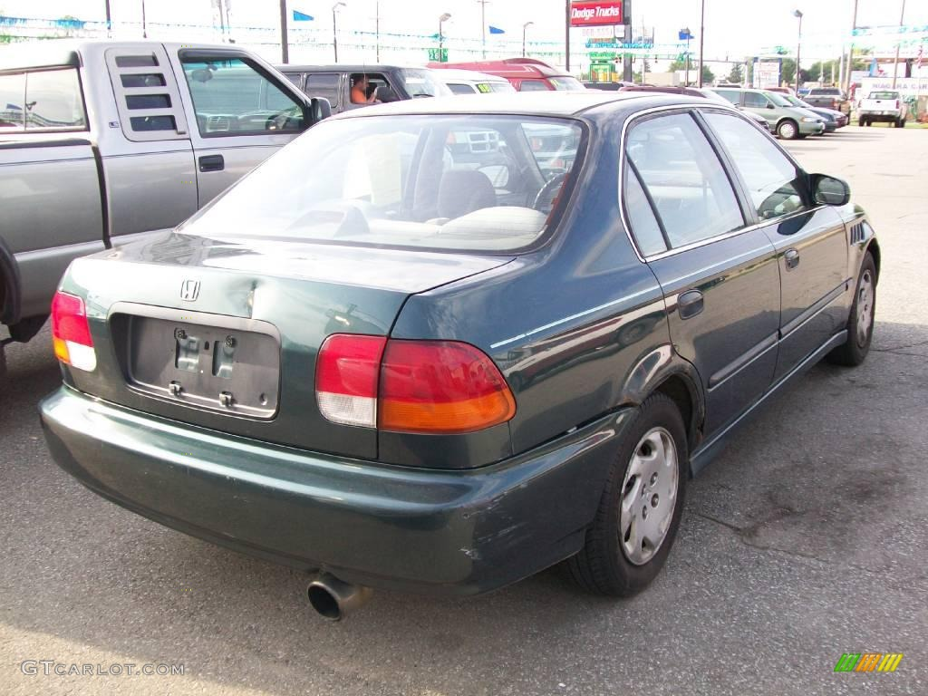 1997 cypress green metallic honda civic lx sedan 12132096. Black Bedroom Furniture Sets. Home Design Ideas