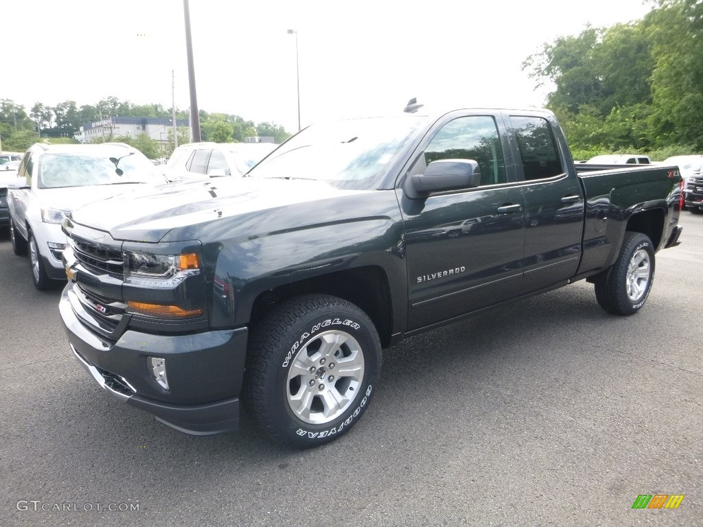 2018 Silverado 1500 LT Double Cab 4x4 - Graphite Metallic / Jet Black photo #1