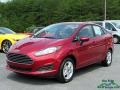 2017 Ruby Red Ford Fiesta SE Sedan #121867638