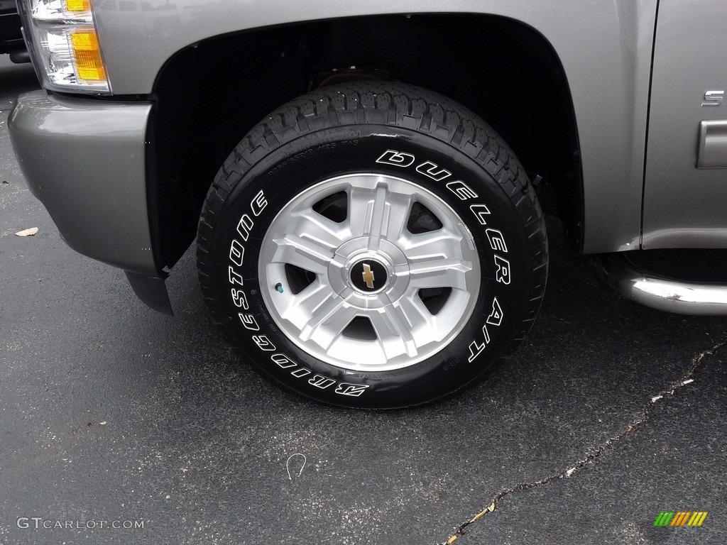 2012 Silverado 1500 LTZ Extended Cab 4x4 - Graystone Metallic / Ebony photo #5