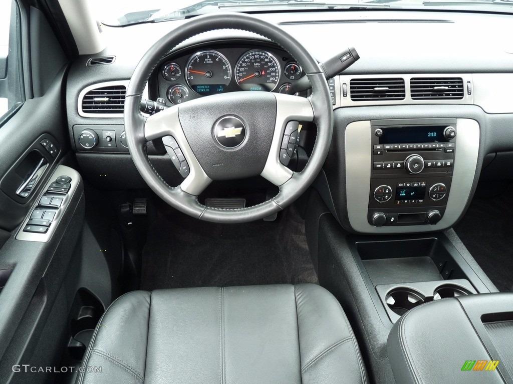 2012 Silverado 1500 LTZ Extended Cab 4x4 - Graystone Metallic / Ebony photo #12