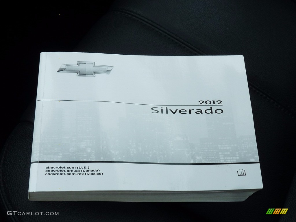 2012 Silverado 1500 LTZ Extended Cab 4x4 - Graystone Metallic / Ebony photo #15