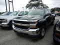 2018 Graphite Metallic Chevrolet Silverado 1500 LT Double Cab 4x4  photo #1
