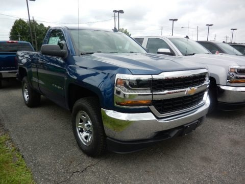 2018 Chevrolet Silverado 1500 LS Regular Cab 4x4 Data, Info and Specs