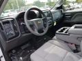 2018 Summit White Chevrolet Silverado 1500 Custom Double Cab 4x4  photo #7