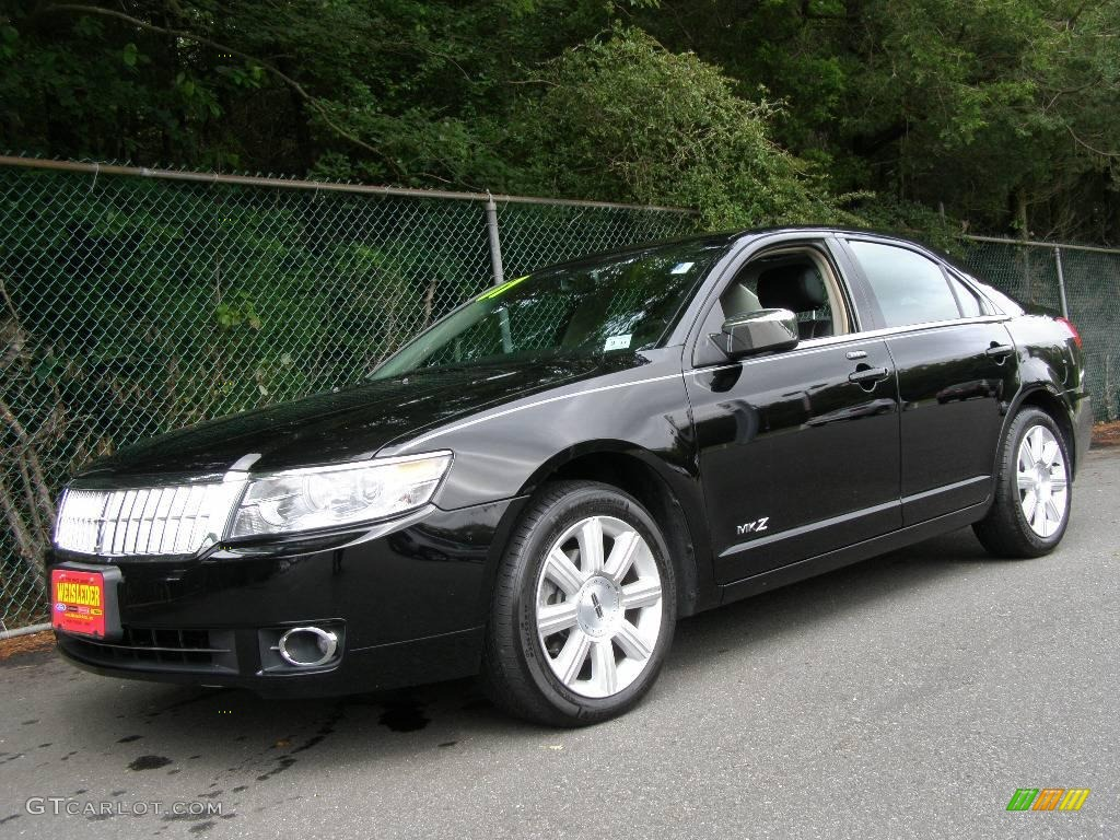 2007 black lincoln mkz sedan 12131479 photo 2 car color galleries. Black Bedroom Furniture Sets. Home Design Ideas
