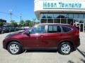 2014 Basque Red Pearl II Honda CR-V EX-L AWD  photo #2