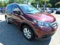 2014 Basque Red Pearl II Honda CR-V EX-L AWD  photo #8