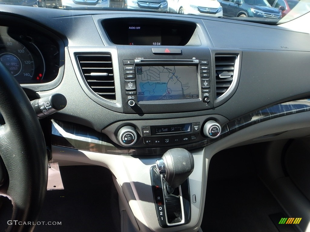 2014 CR-V EX-L AWD - Basque Red Pearl II / Gray photo #22