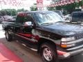 2000 Onyx Black Chevrolet Silverado 1500 LS Extended Cab 4x4  photo #5