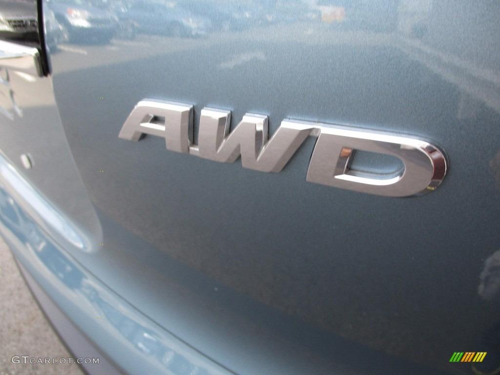 2014 CR-V EX AWD - Mountain Air Metallic / Beige photo #6