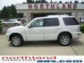 White Chocolate Tri-Coat 2009 Mercury Mountaineer Premier AWD