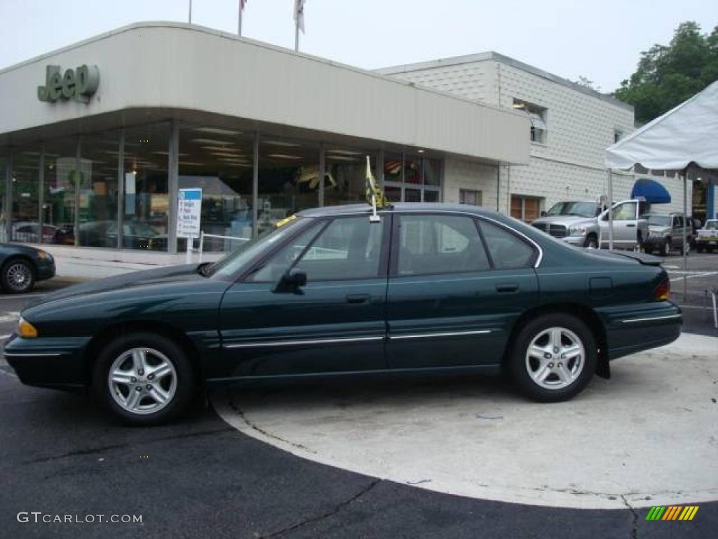 1999 emerald green metallic pontiac bonneville se 12135643 gtcarlot com car color galleries gtcarlot com