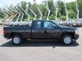 2013 Black Chevrolet Silverado 1500 Work Truck Extended Cab  photo #4