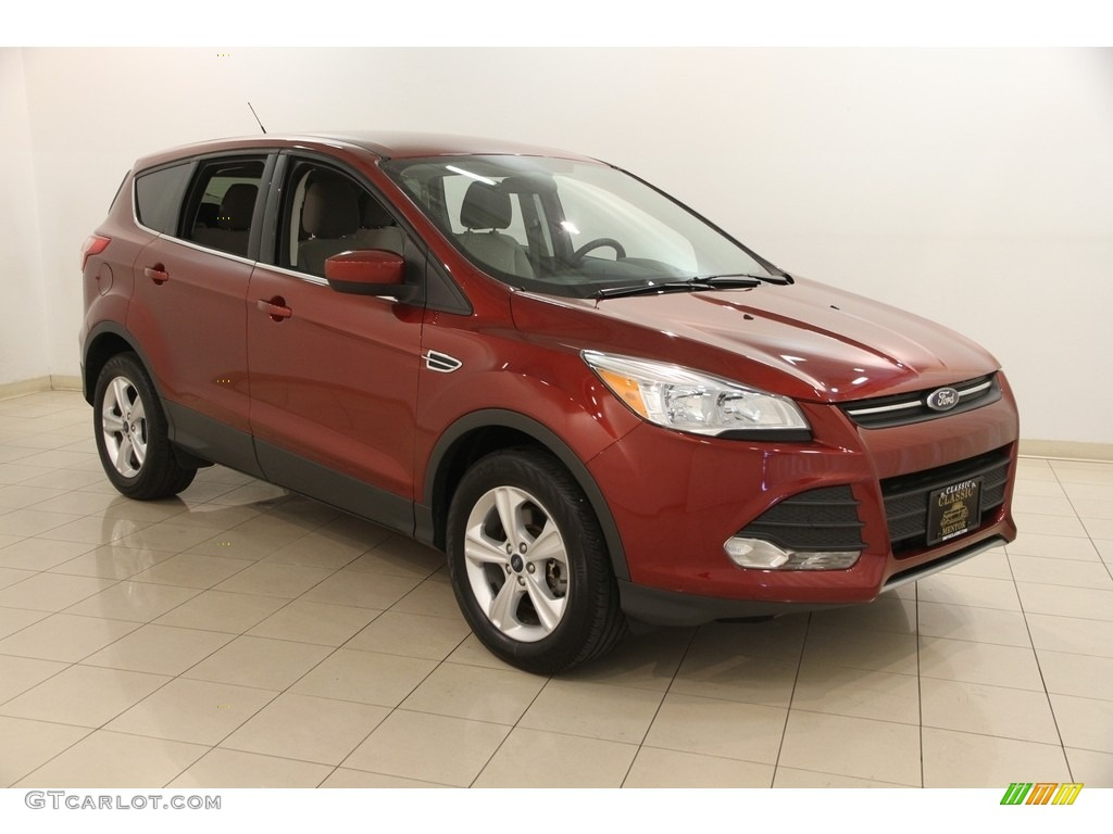 2014 Escape SE 2.0L EcoBoost 4WD - Sunset / Medium Light Stone photo #1
