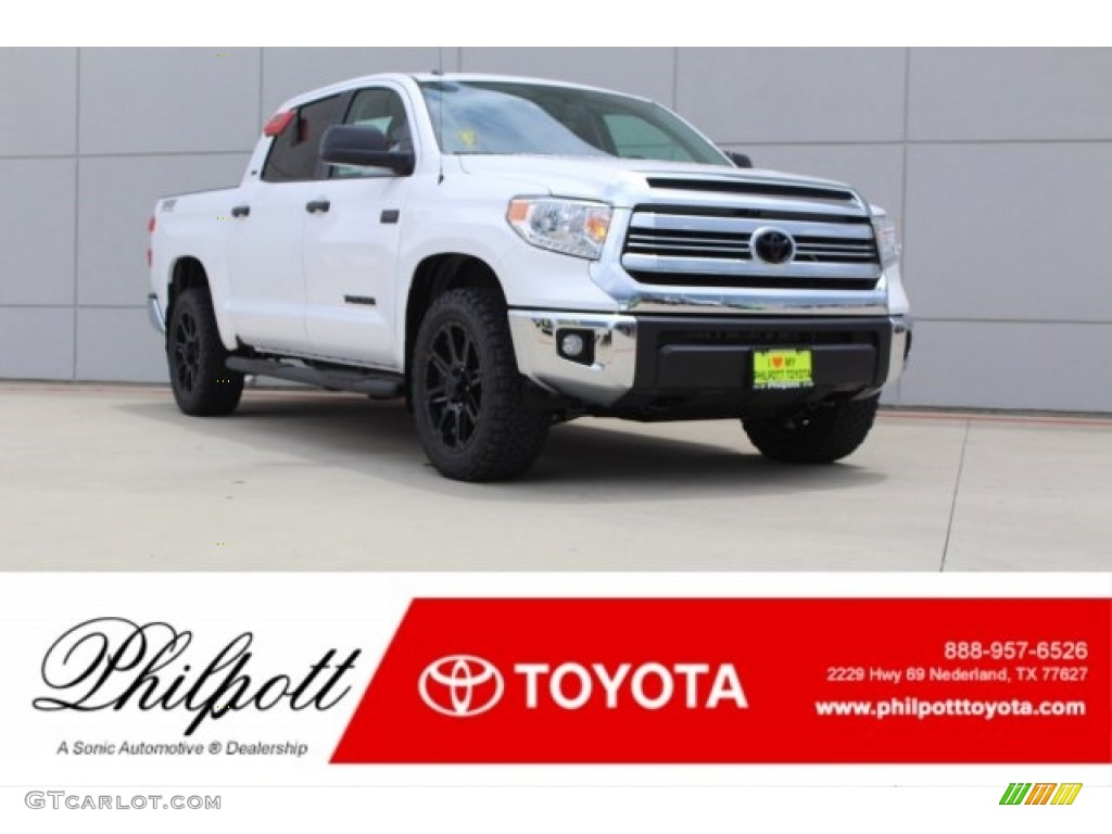 2017 super white toyota tundra sr5 crewmax 4x4 121993533 car color galleries. Black Bedroom Furniture Sets. Home Design Ideas