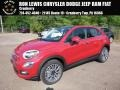 Rosso Passione (Red) 2017 Fiat 500X Lounge AWD