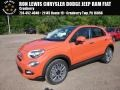 Arancio (Orange) 2017 Fiat 500X Lounge AWD