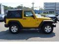 2011 Detonator Yellow Jeep Wrangler Sport 4x4  photo #2