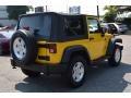 2011 Detonator Yellow Jeep Wrangler Sport 4x4  photo #3