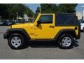 2011 Detonator Yellow Jeep Wrangler Sport 4x4  photo #6