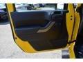 2011 Detonator Yellow Jeep Wrangler Sport 4x4  photo #9