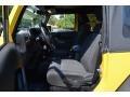 2011 Detonator Yellow Jeep Wrangler Sport 4x4  photo #11