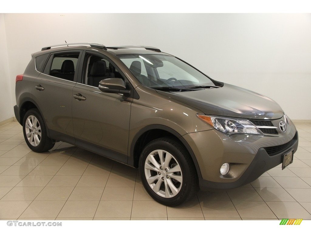 2014 pyrite mica toyota rav4 limited awd 122023623 photo. Black Bedroom Furniture Sets. Home Design Ideas