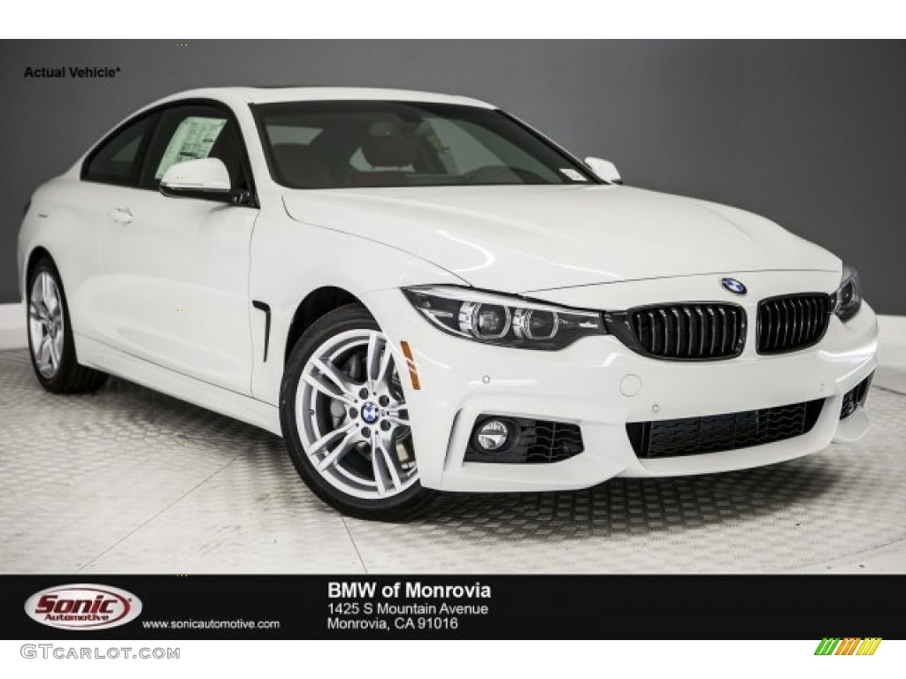 2018 Alpine White BMW 4 Series 440i Coupe #122023551   GTCarLot.com - Car Color Galleries