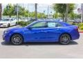 Still Night Blue Pearl 2018 Acura TLX V6 A-Spec Sedan Exterior