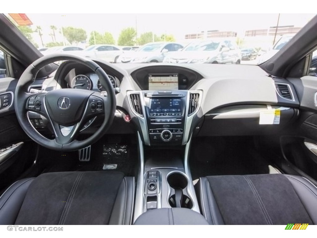 2018 Acura TLX V6 A-Spec Sedan Ebony Dashboard Photo #122043095