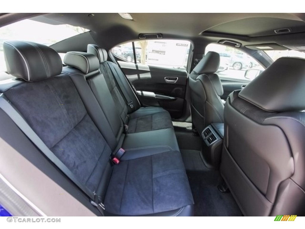 2018 Acura TLX V6 A-Spec Sedan Rear Seat Photo #122043257