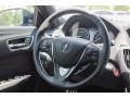 Ebony 2018 Acura TLX V6 A-Spec Sedan Steering Wheel
